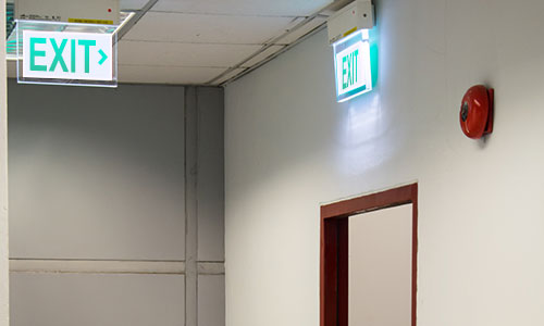 Importance Of Fire Exit Lights Under Emergency Situations