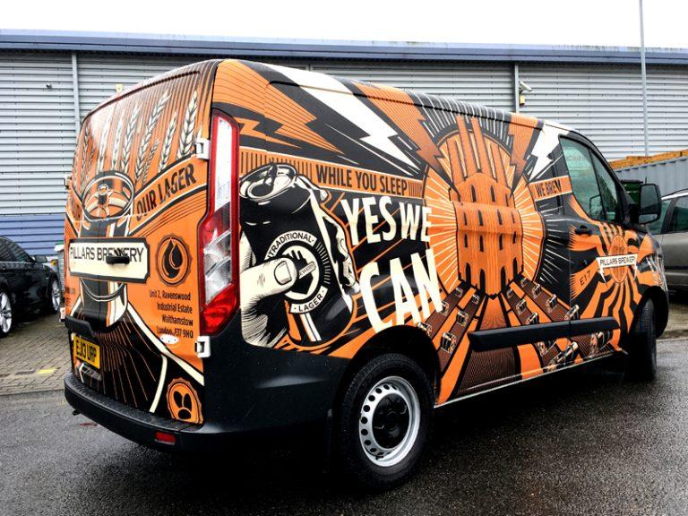 How to Brand Your Van