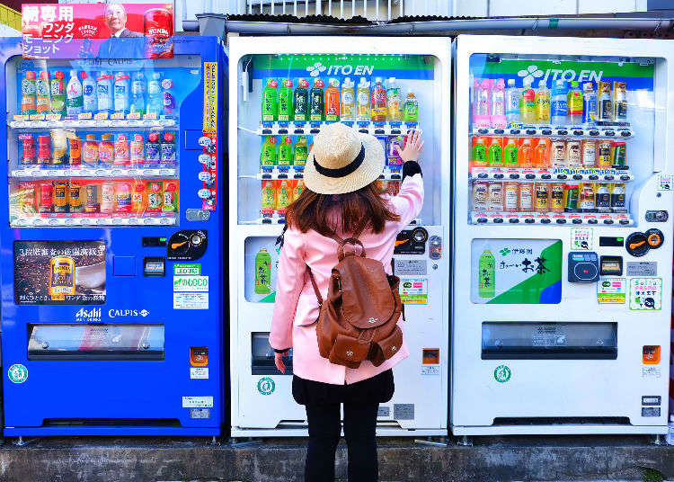 Why is the usage of vending machines so popular?